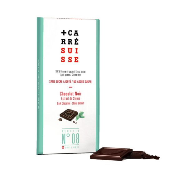 No SUGAR - 100g Stevia bar - 10/cs