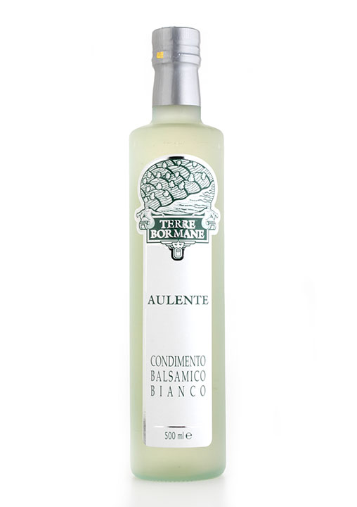 """Aulente"" White Balsamic Vinegar 1/2 ltr. - 6/cs"