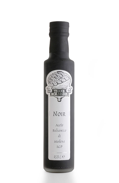 """Noir"" Aged Balsamic Vinegar of Modena IGP 1/4 ltr. - 6/cs"