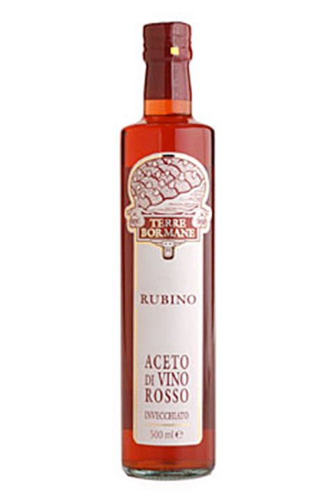 """Rubino"" Red Wine Vinegar 1/2 ltr. - 6/cs"