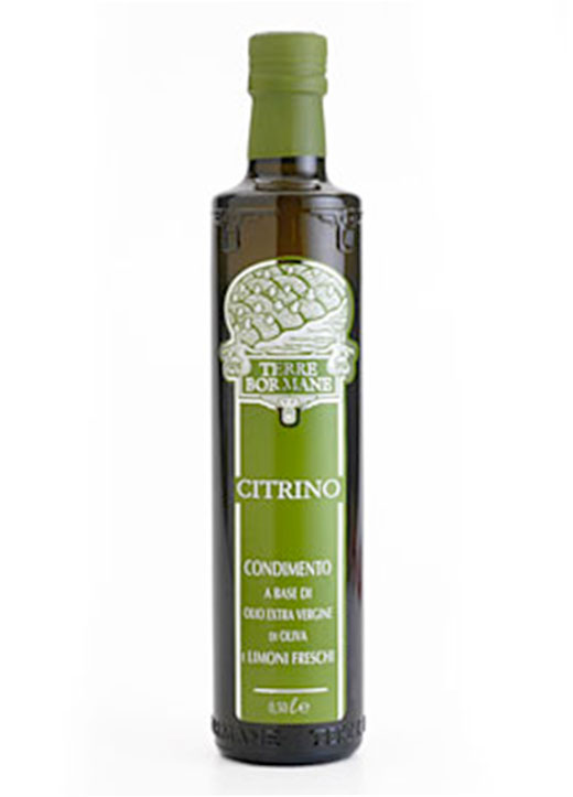 """Citrino"" Extra Virgin Olive Oil with Lemon - 1/2 ltr. - 6/cs"