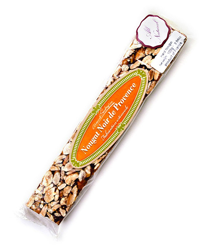 Nougat Dark/hard  bar 100g/3.5oz - AS567