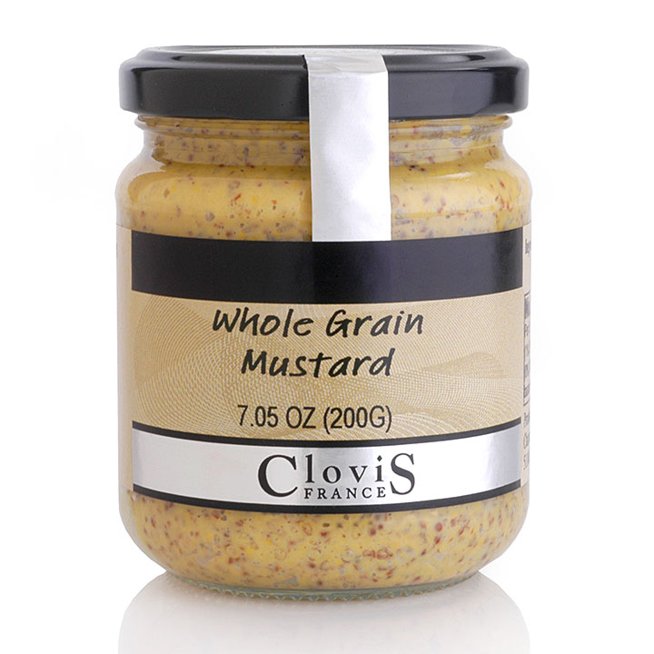 Whole Grain Mustard 200g/7.05oz - CL735 - 12/cs