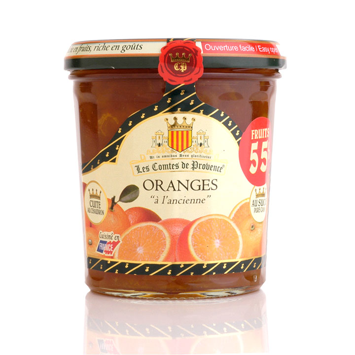 "Orange ""A L'Ancienne"" Preserve 370g/13oz - 6/cs - HP912"