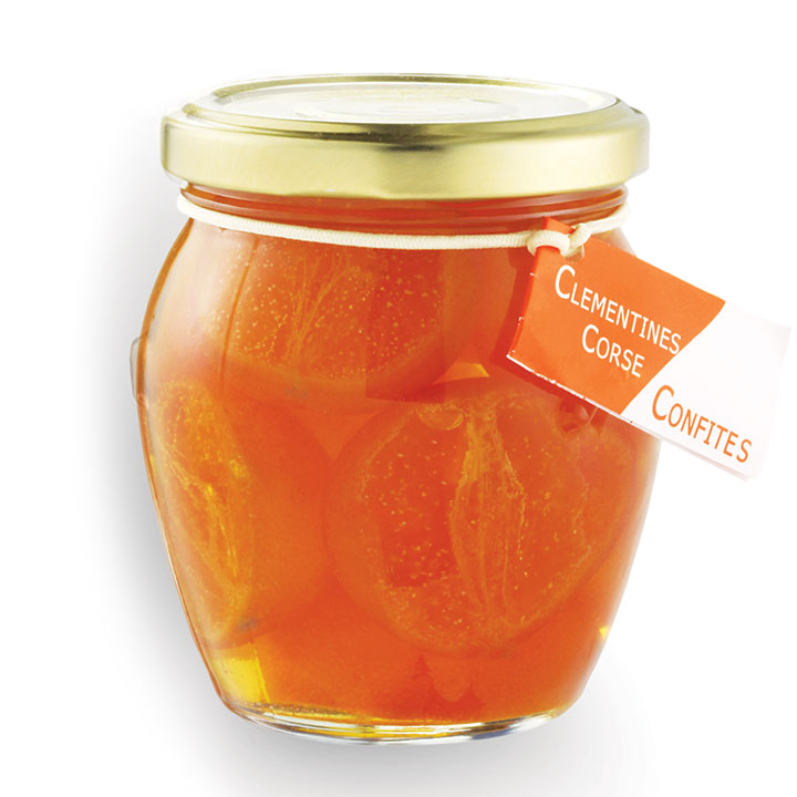 Candied 1/2 Clementines In Syrup - 150g/5.3oz - CO1061 - 12/cs