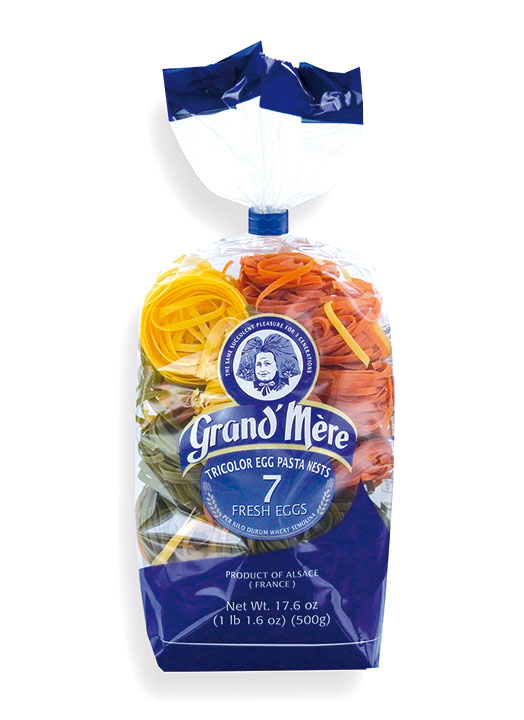 Pasta Tricolor Nest 500g/16.7oz - 12/cs - GM210