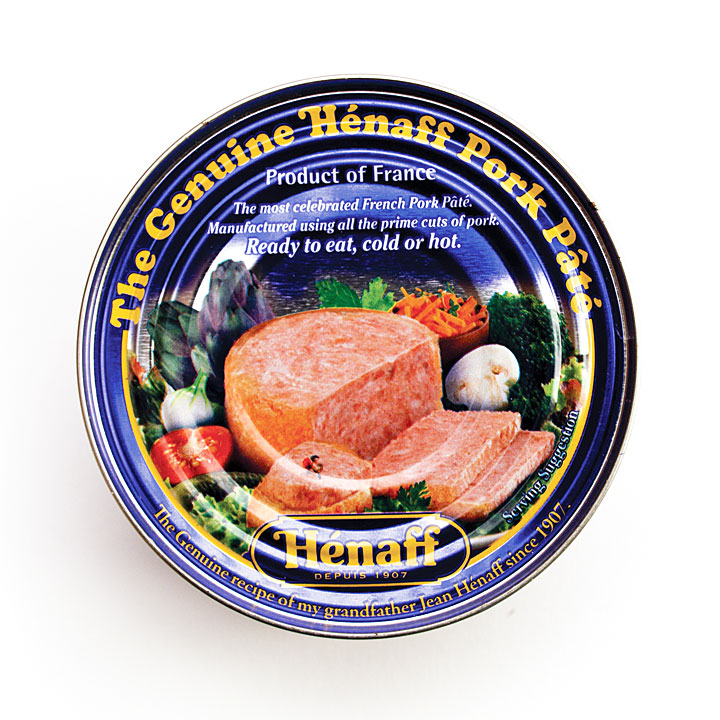 Henaff Original Pork Pate - 5.4oz/153g - JH233 - 12/cs