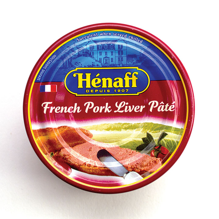 Henaff Pork Liver Pate  - 4.5oz/130g - 12/cs