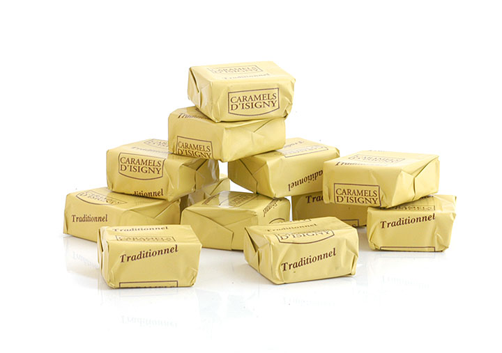 Caramels w/ Isigny Butter - 144 pcs - 2kg/4.4lbs - 1/cs