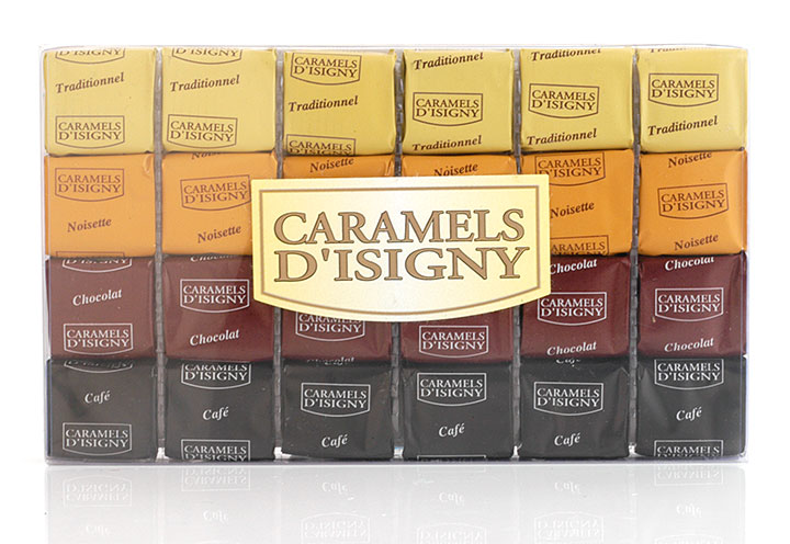 "Mixed Caramels ""Tradition"" - 24 pcs in clear box"