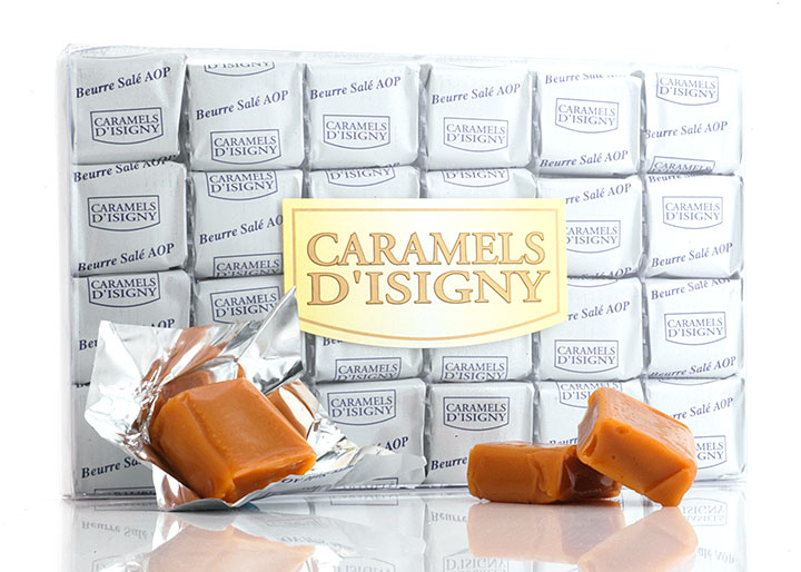 Salted Butter Caramels - 24 pcs in clear box