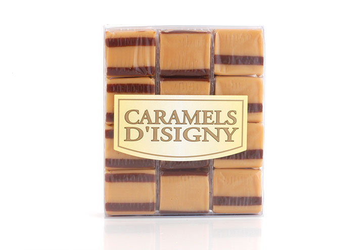 Fondant Caramels - 12 pcs in clear box