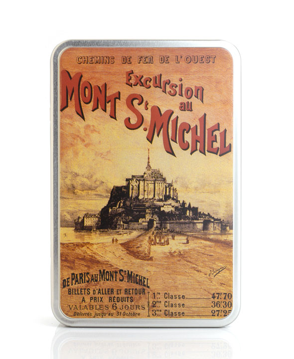 "Mont St. Michel tin - ""Normandie"" mix - 250g/8.8oz - 8/cs"