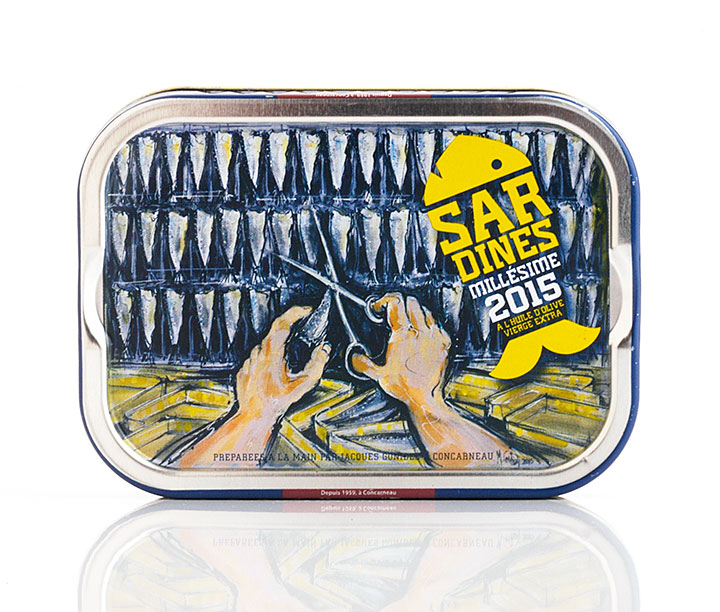 2015 Vintage Tin Sardines 115g/4oz - 24/cs