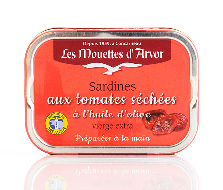 Sardines In Sun Dried Tomato Sauce - 115g/4 oz - 12/cs - GO264