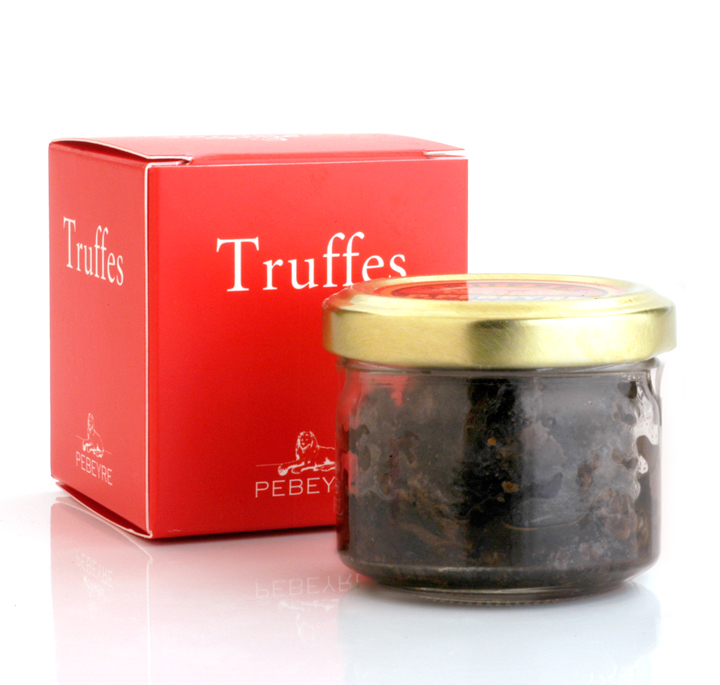 Truffles peelings 25g/0.9oz glass jar - 4/cs