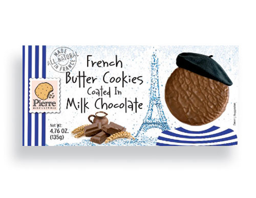 Milk Chocolate Coated Butter Biscuit  4.76oz/135g - 12/cs - A0823
