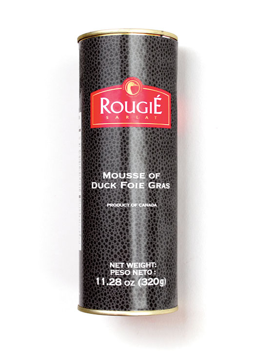 Mousse of Foie Gras (50% FG, Pork-free) plain - 320g/11.2 oz - RGD11