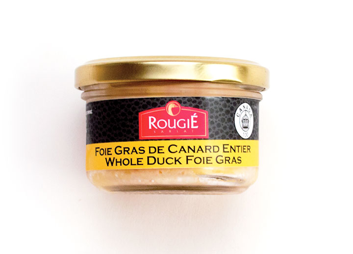 Whole Foie Gras with Armagnac - Twist-Top Jar-80g / 2.80 oz - 12/cs - RGR11