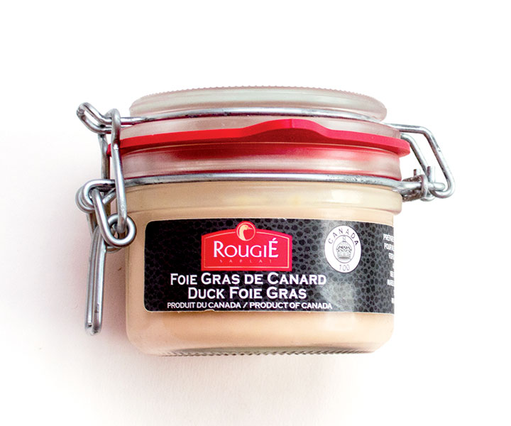 Foie Gras with Armagnac - Mason jar - 125 g / 4.40 oz - 6/cs - RGR15