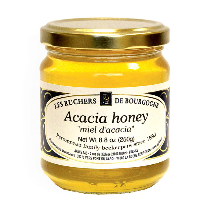 Acacia Honey - 250g/8.8 oz - 6/cs