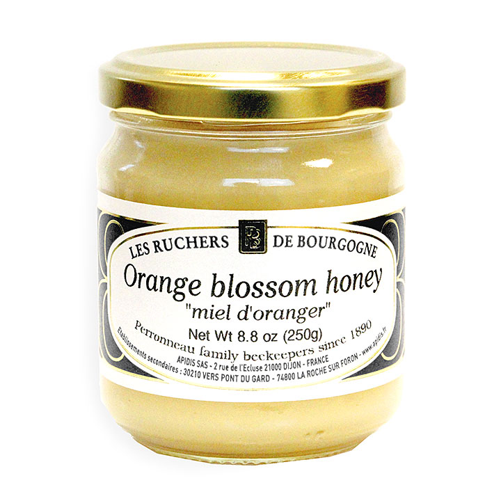 Orange Blossom Honey - 250g/8.8 oz - 6/cs - RB1023