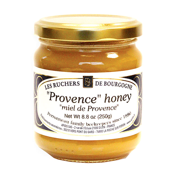Provence Honey - 250g/8.8 oz - 6/cs - RB1025